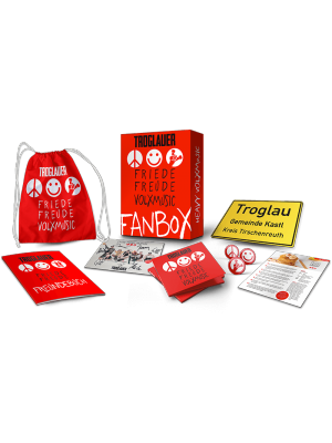 "Limited Edition Fan-Box ""Friede Freude Volxmusic"""